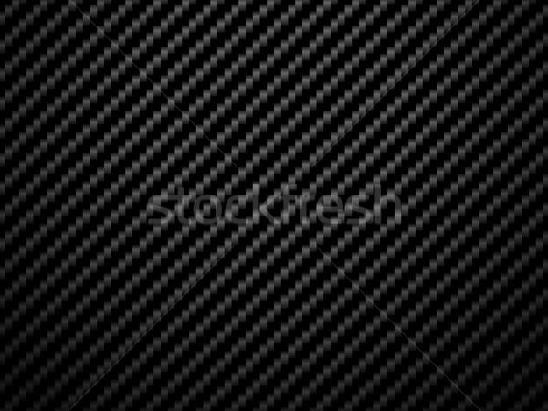 Vector black carbon fiber volume background Stock photo © Iaroslava