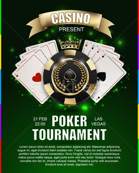 Vip pôquer luxo preto dourado lasca Foto stock © Iaroslava