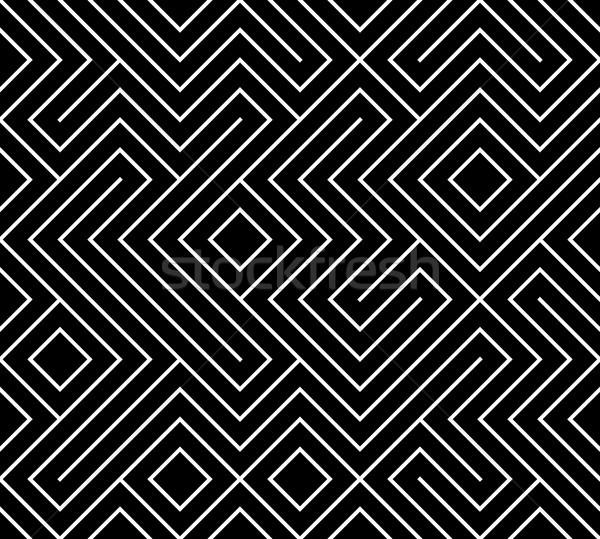 Geometrik basit grafik baskı vektör Stok fotoğraf © Iaroslava