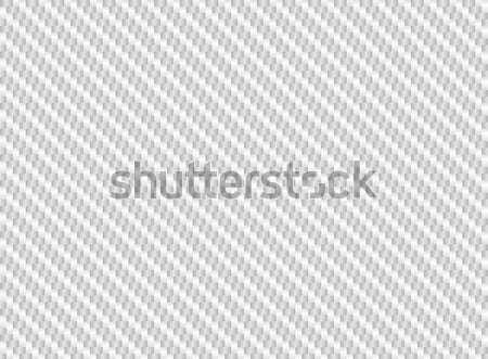 Vetor branco fibra de carbono volume abstrato luz Foto stock © Iaroslava