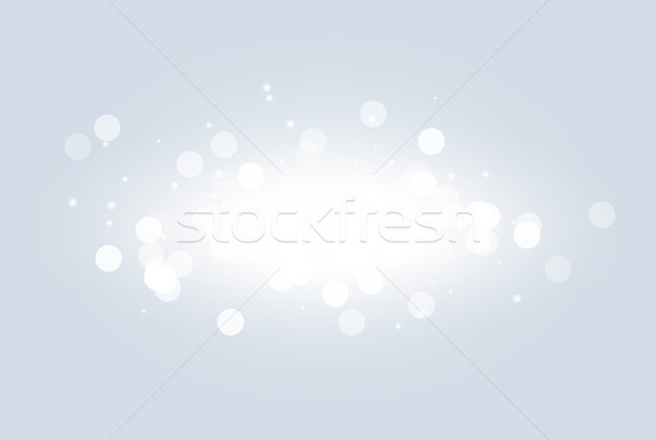 Abstract white bokeh light effect explosion sparks modern design. Glow star burst blur defocused Stock photo © Iaroslava