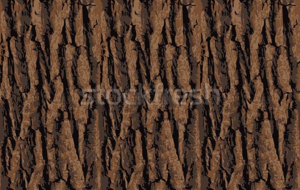 Sin costura árbol corteza textura Foto stock © Iaroslava