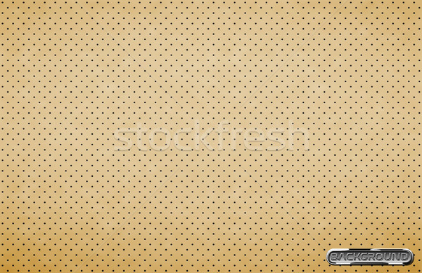 Vector dark gray perforated leather texture wallpaper. Realistic perforated background. Light dotted Stock photo © Iaroslava
