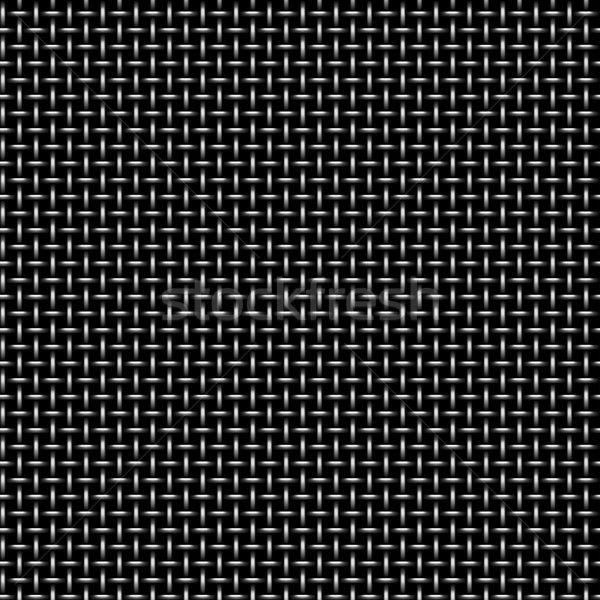 Vector pattern of metal grid seamless background. Iron grill endless texture. Web page fill pattern. Stock photo © Iaroslava
