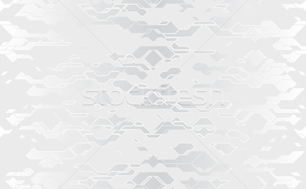 бесшовный аннотация вектора футуристический серебро ткань Сток-фото © Iaroslava