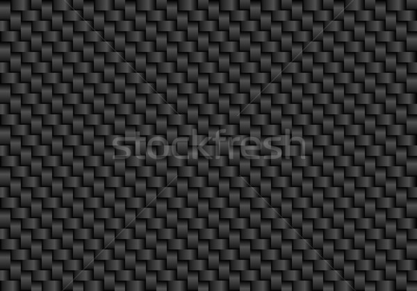 Vector black carbon fiber seamless background Stock photo © Iaroslava