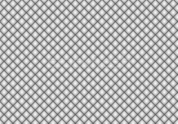 Shiny glossy gray mosaic seamless background. Abstract geometric diamond style texture for design Stock photo © Iaroslava