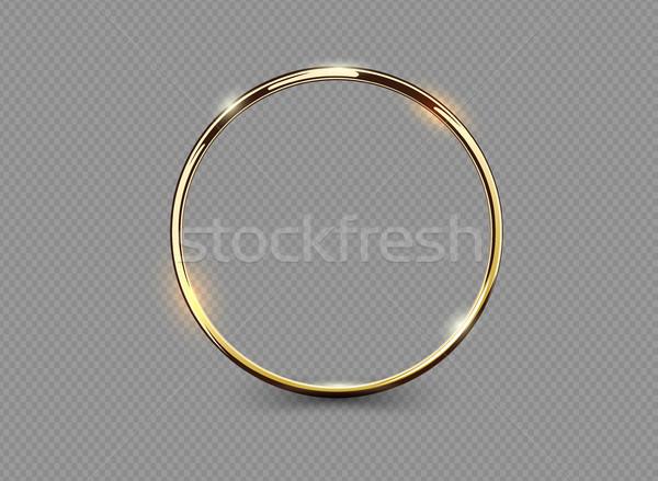 Abstract lusso anello trasparente vettore Foto d'archivio © Iaroslava
