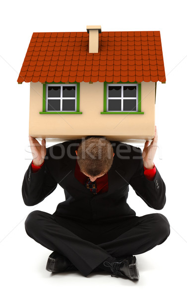 Man holding house Stock photo © icefront