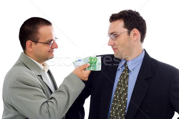 Stock photo: Businessman or politician bribe