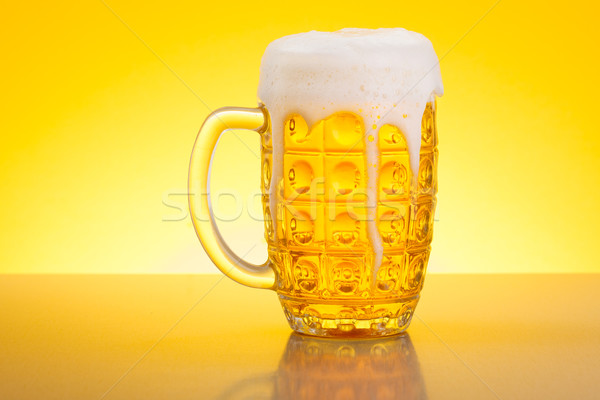 Beer in Stein Stock photo © icefront