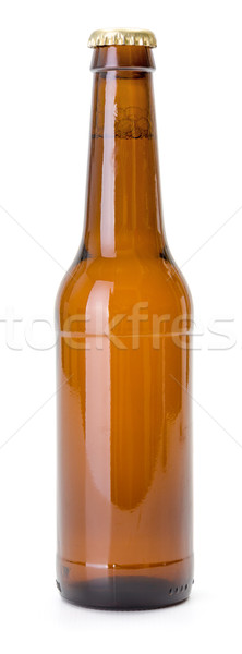 Brown beer bottle Stock photo © icefront