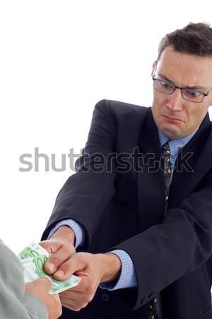 Money pulling Stock photo © icefront