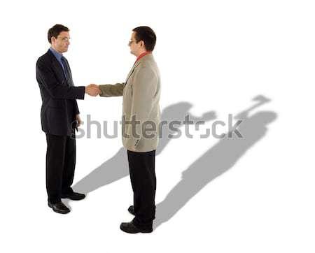 Business handshake Stock photo © icefront
