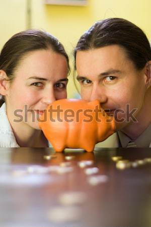 Piggy bank Stock photo © icefront