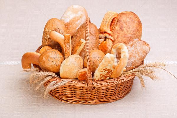 Variedad pan frescos panadería productos Foto stock © icefront