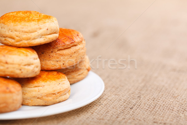 Stock photo: Salty cake