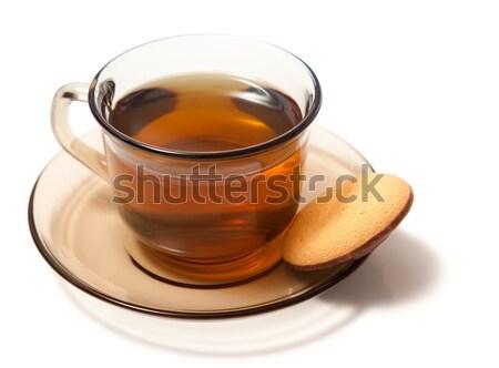 Tea with cake Stock photo © icefront