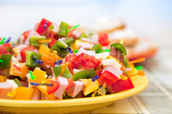 Party food Stock photo © icefront