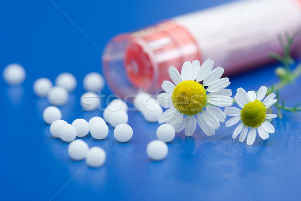Homeopathic medication Stock photo © icefront