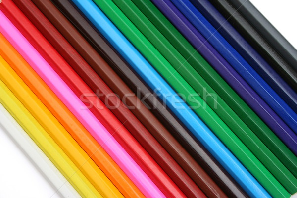 Colored pencils Stock photo © icefront
