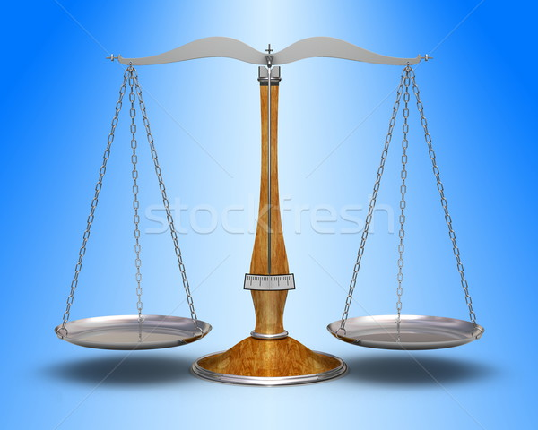 öreg mérleg precizitás magas döntés kék Stock fotó © icefront