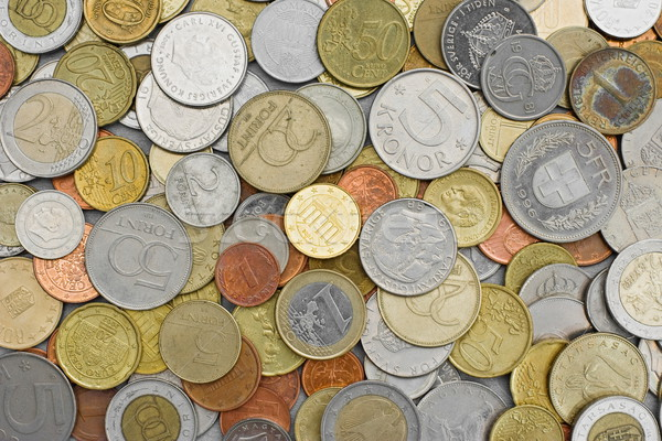 Various coins Stock photo © icefront