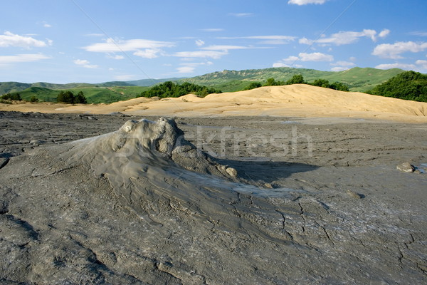 Muddy volcano Stock photo © icefront