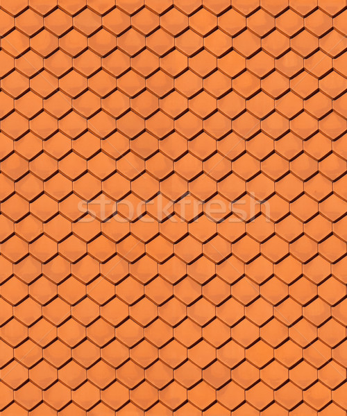 Seamless house roof texture Stock photo © icefront