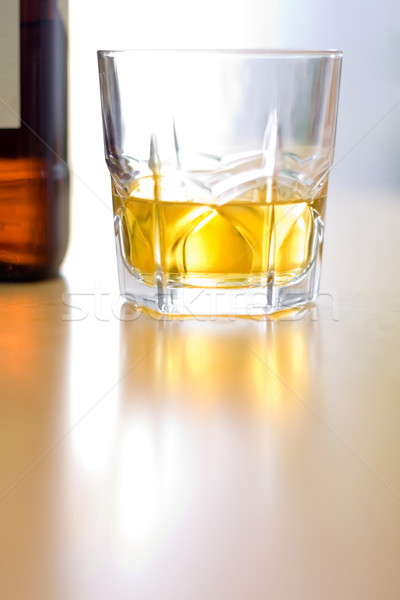 Glass of whiskey Stock photo © icefront