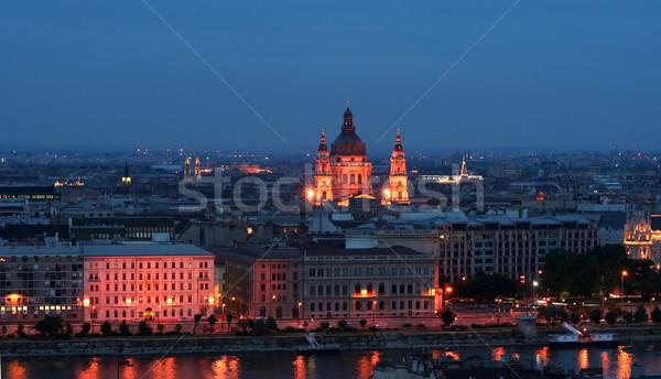 Budapest - St. Stephen Basilica Stock photo © icefront