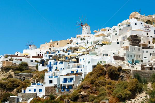 Aldeia santorini cidade ilha Grécia Foto stock © icefront
