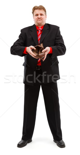 Man showing empty wallet Stock photo © icefront