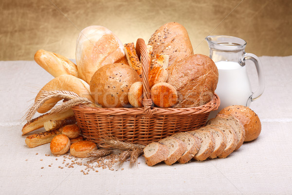 Different bread products Stock photo © icefront