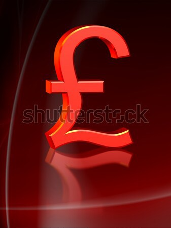 Red pound Stock photo © icefront