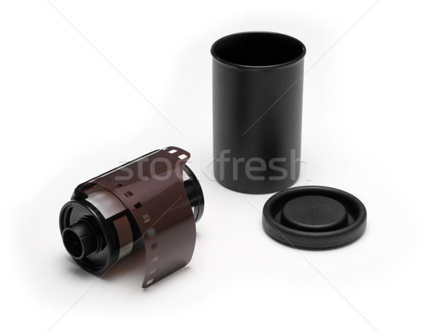 Film patron öreg fotó új konzerv Stock fotó © icefront