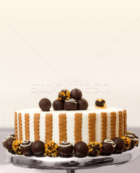 Bonbon cake Stock photo © icefront