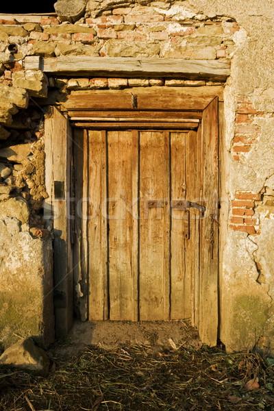 Old door Stock photo © icefront
