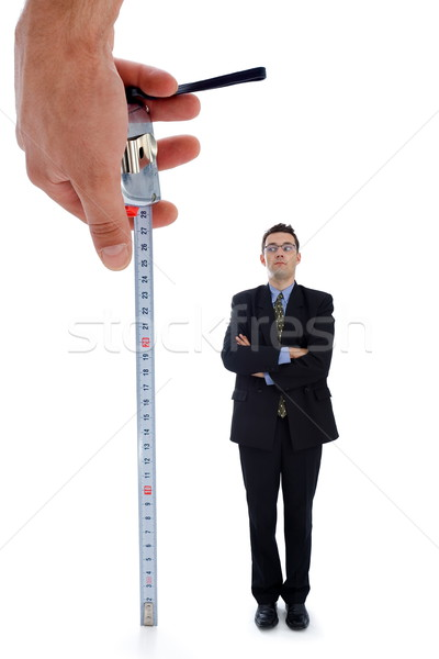 Measuring a men Stock photo © icefront