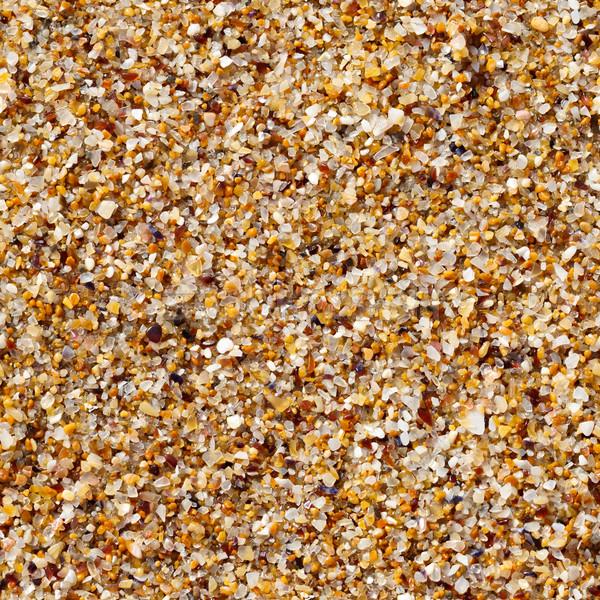 Tenger homok textúra végtelenített kagyló kő Stock fotó © icefront