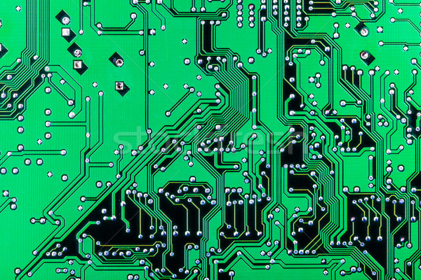Electronic printed circuit board Stock photo © icefront