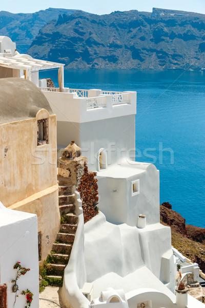 Velho santorini mar cidade ilha Foto stock © icefront