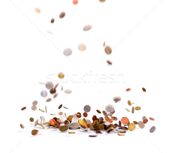 Raining Coins Jackpot Stock photo © icefront