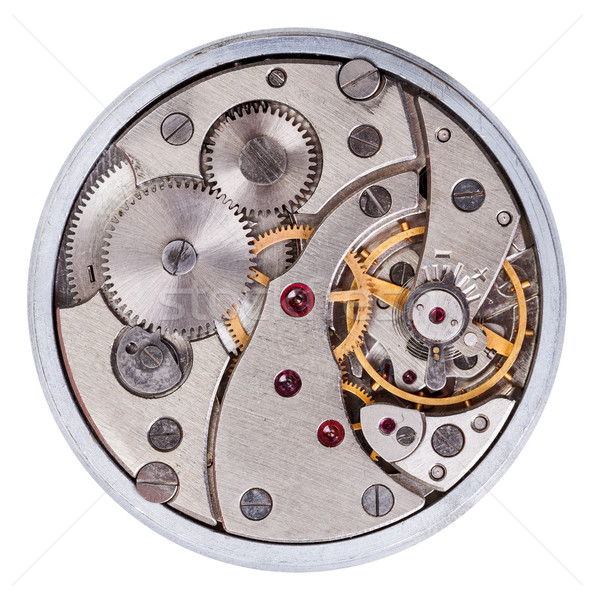 Old clockwork mechanism Stock photo © icefront
