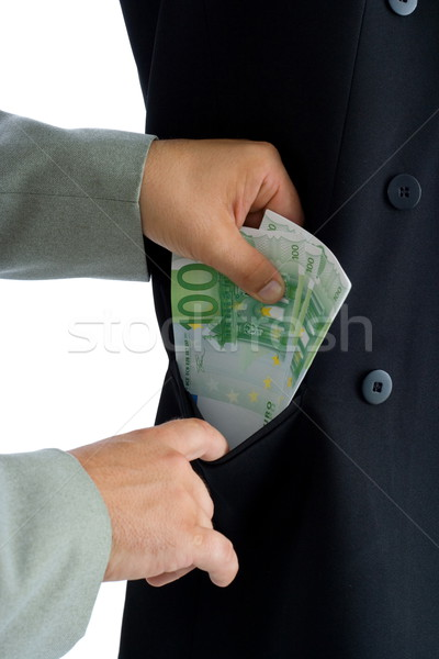 Stock photo: Bribe