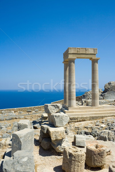 Ancient greek ruins Stock photo © icefront