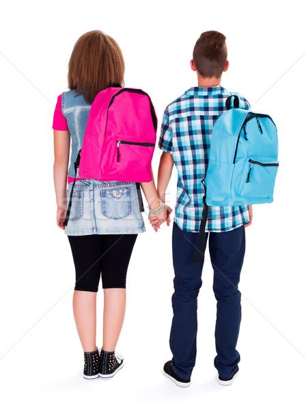 Adolescent Love Stock photo © icefront