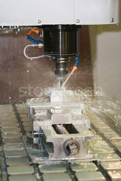 машина рабочих охлаждение жидкость 3D Сток-фото © icefront