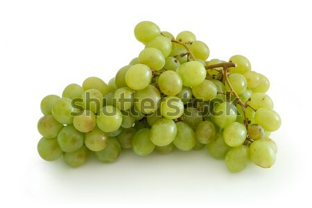 Green grape cluster Stock photo © icefront