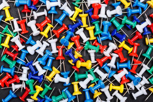Colorido plástico azul grupo herramienta Foto stock © icefront